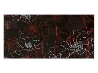 Płytka ścienna centro Infinita brąz flower line a 29x59,3 Opoczno