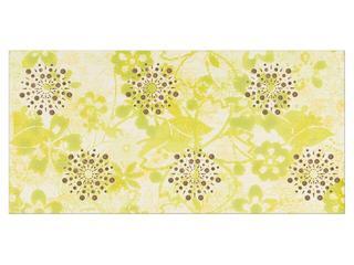 Płytka ścienna centro Linero zielone flower 29x59,3 Opoczno