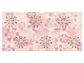 Płytka ścienna centro Linero róż flower 29x59,3