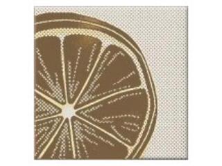 Płytka ścienna centro Inwencja lemonka 10x10 Opoczno
