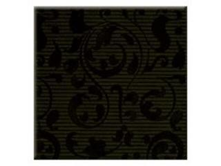 Płytka ścienna centro Aplauz czarny ornament 10x10 Opoczno