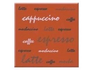 Płytka ścienna centro Aplauz espresso czerwony 10x10 Opoczno