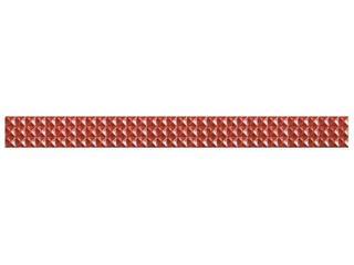 Płytka ścienna Jazz czerwień geo 59,3x5,4 Opoczno