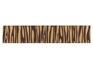 Płytka ścienna zebra brąz glass 29,7x6 Opoczno