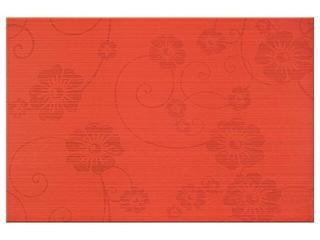 Płytka ścienna Flower 2 czerwień 30x45 Opoczno