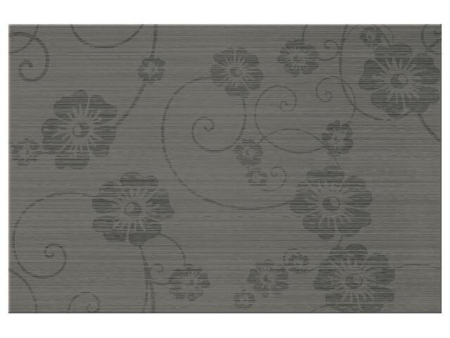 Płytka ścienna Flower 2 grafit 30x45