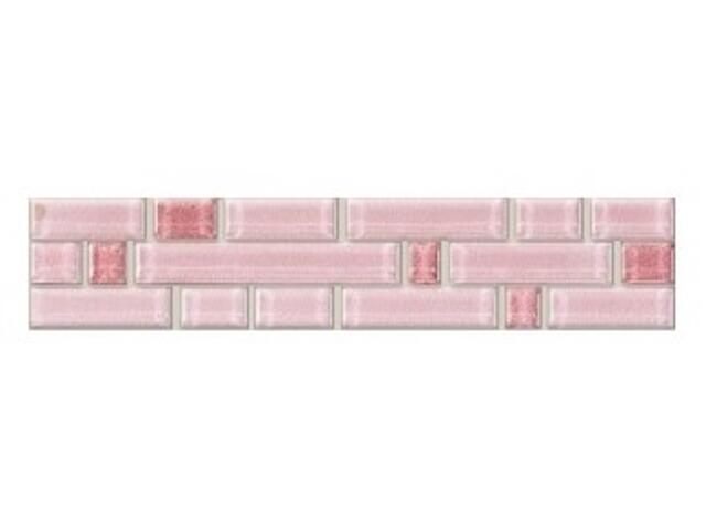 Płytka ścienna Satysfakcja róż mosaic 20x4,1
