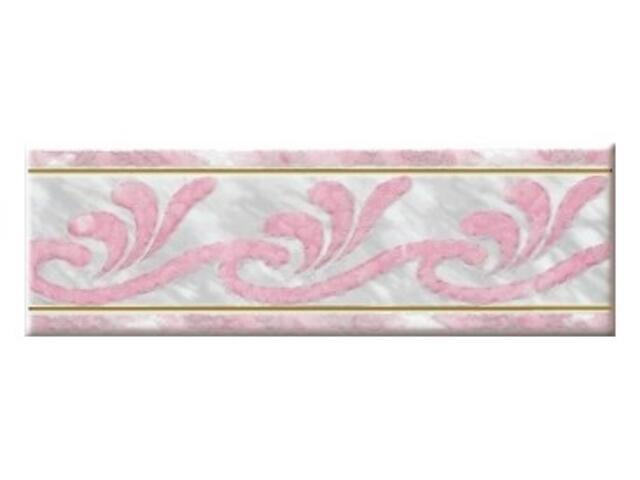 Płytka ścienna safona róż 22,5x7,5