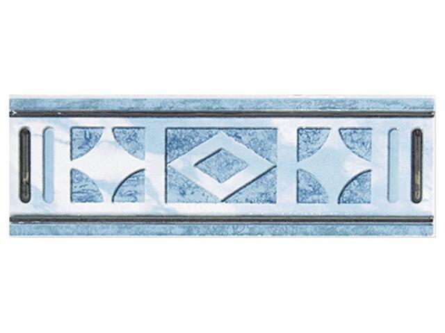 Płytka ścienna Pallada azul listwa 25x8