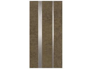 Płytka ścienna Ariva brown inserto metal 1 29x59,3 Cersanit