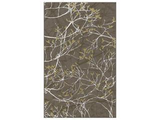 Płytka ścienna Liryka brown inserto gałązka 25x40 Cersanit