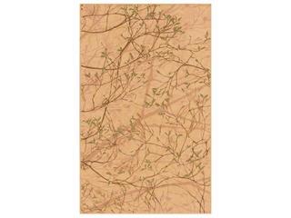 Płytka ścienna Liryka orange inserto gałązka 25x40 Cersanit