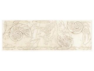 Płytka ścienna Trawertino beige listwa muszla 25x8,6 Cersanit