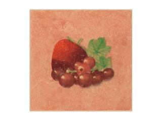Płytka ścienna Cucina ochra motyw fragola porzeczki 10x10 Cersanit