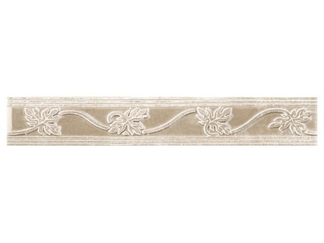 Płytka ścienna Libra beige listwa classic 25x4