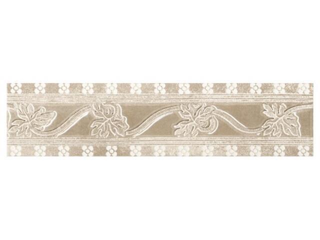 Płytka ścienna Libra beige listwa classic 25x6