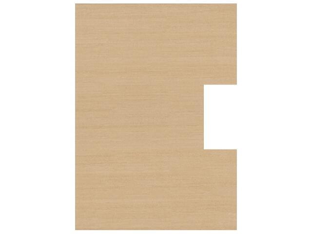 Płytka ścienna Tenera siena pod inserto otwór kwadrat 25x35