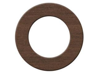Płytka ścienna okrąg brown Tenera Cersanit