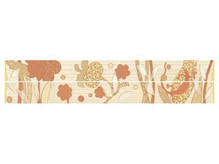 Płytka ścienna Symfonia beige listwa modern 50x5,3 Cersanit