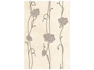 Płytka ścienna Tesalia beige inserto kwiatek 33,3x50 Cersanit