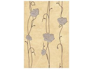 Płytka ścienna Tesalia giallo inserto kwiatek 33,3x50 Cersanit