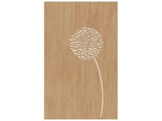 Płytka ścienna Edera brown inserto kwiatek 25x40 Cersanit
