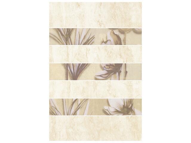 Płytka ścienna President inserto kwiatek 33,3x50