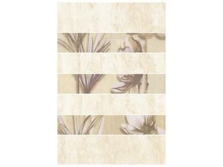 Płytka ścienna President inserto kwiatek 33,3x50 Cersanit