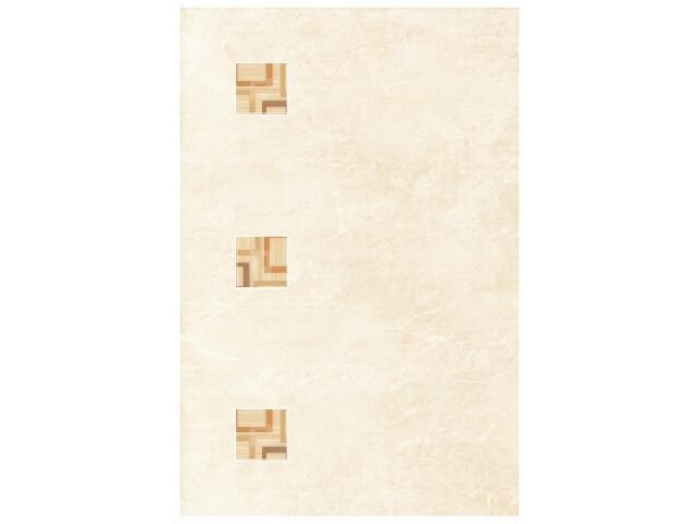 Płytka ścienna Tesalia beige inserto modern 33,3x50