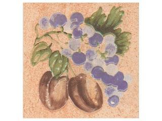 Płytka ścienna Ariza beige motyw owoce 2 10x10 Cersanit