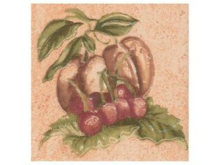 Płytka ścienna Ariza beige motyw owoce 3 10x10 Cersanit