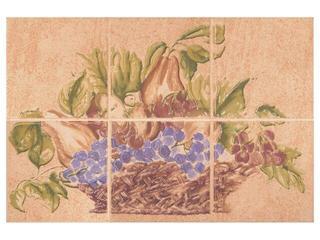 Płytka ścienna Ariza beige kompozycja owoce 20x30 Cersanit