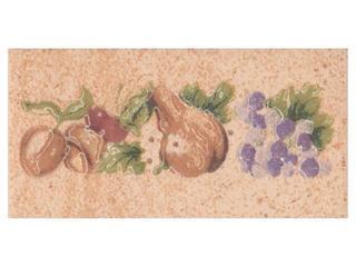 Płytka ścienna Ariza beige listwa owoce 5x10 Cersanit