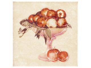 Płytka ścienna Sagra beige motyw owoce 2 10x10 Opoczno