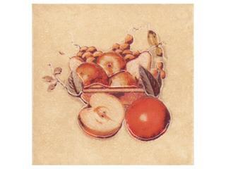 Płytka ścienna Sagra giallo motyw owoce 3 10x10