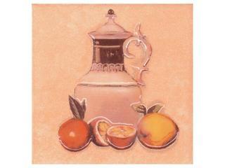 Płytka ścienna Sagra orange motyw owoce 1 10x10 Opoczno