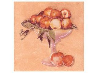 Płytka ścienna Sagra orange motyw owoce 2 10x10 Opoczno