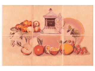 Płytka ścienna Sagra orange kompozycja owoce 20x30 Opoczno