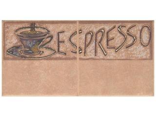 Płytka ścienna Sagra noce kompozycja coffee 1 10x20 Opoczno