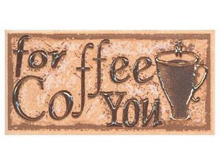 Płytka ścienna Sagra orange listwa coffee 5x10 Opoczno