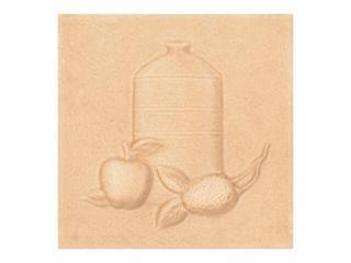 Płytka ścienna Sagra orange motyw kafel 1 10x10 Opoczno