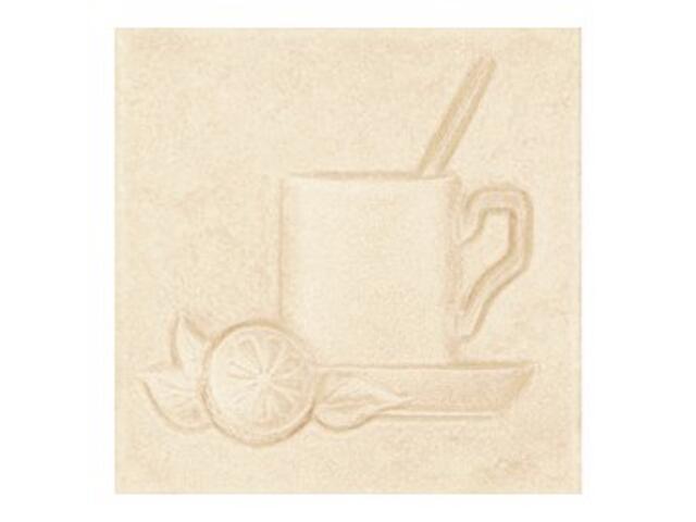 Płytka ścienna Sagra beige motyw kafel 2 10x10