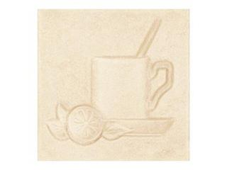 Płytka ścienna Sagra beige motyw kafel 2 10x10 Opoczno