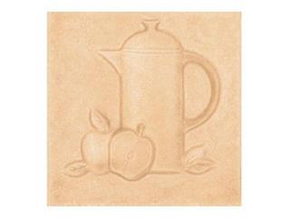 Płytka ścienna Sagra orange motyw kafel 3 10x10 Opoczno