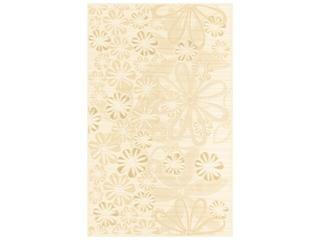Płytka ścienna Euforia beige inserto kwiatek 3 25x40 Cersanit