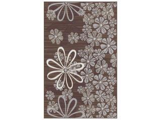 Płytka ścienna Euforia brown inserto kwiatek 3 25x40 Cersanit