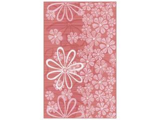 Płytka ścienna Euforia rosa inserto kwiatek 3 25x40