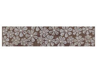 Płytka ścienna Euforia brown listwa kwiatek 2 40x8,5 Cersanit