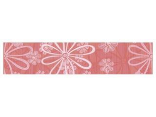 Płytka ścienna Euforia rosa listwa kwiatek 1 40x8,5 Cersanit