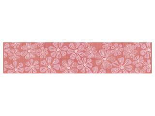 Płytka ścienna Euforia rosa listwa kwiatek 2 40x8,5 Cersanit